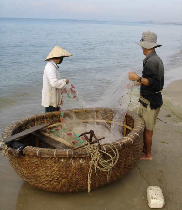 Fishing coracle