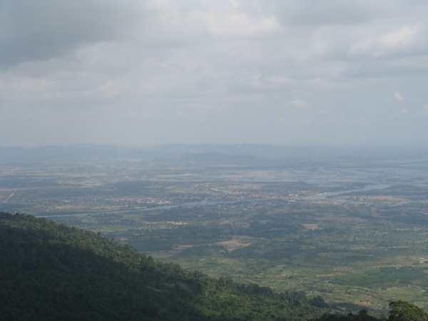 Kampot in distance.