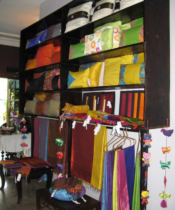 Le Rits NGO Shop - the finished products