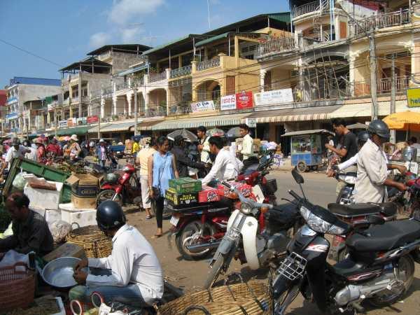 Main street Kampot