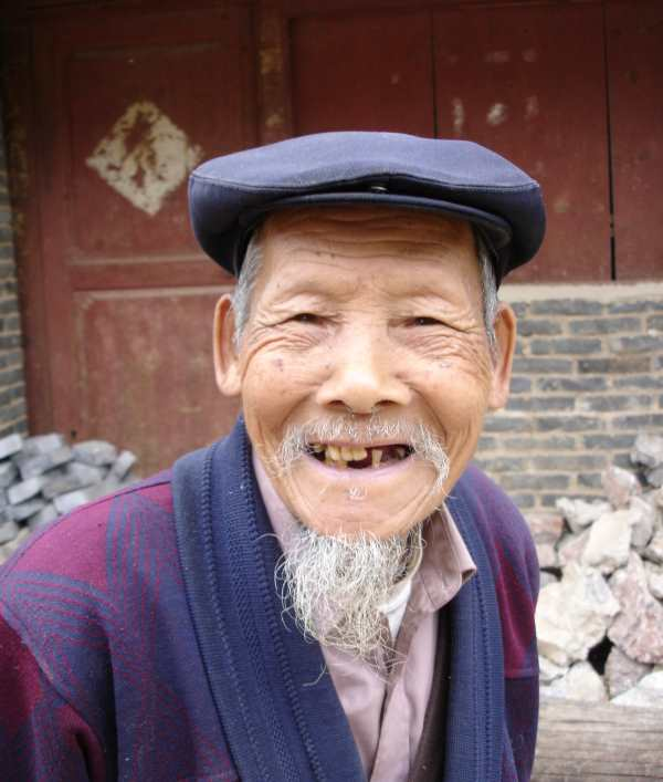 Old Chines man
