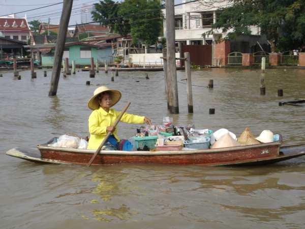 Shop on a boat Bangkok