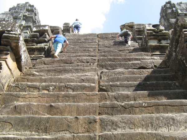 climbing temples