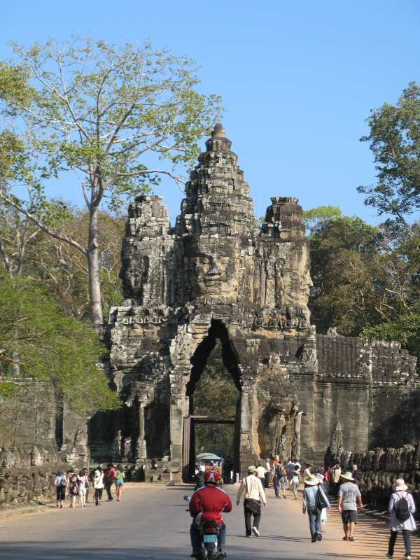 Entrance to Angkor Wat - Copy