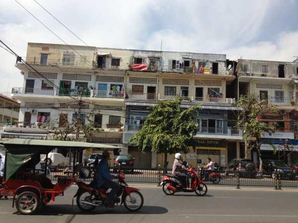 Monivong Ave Phnom Penh